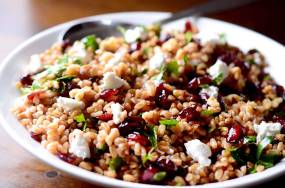 farro-cranberry-and-goat-cheese-salad